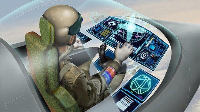 Savaş uçağı BAE Systems giyilebilir kokpit