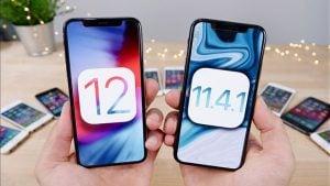 iOS 12 ve iOS 11.4.1