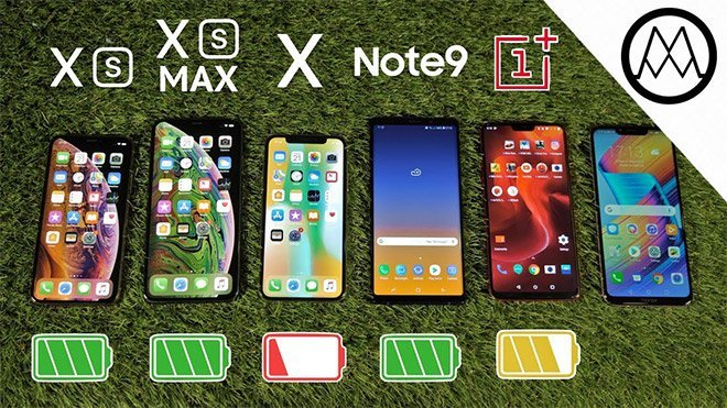 iPhone XS, iPhone XS Max vs Galaxy Note 9 vs iPhone X