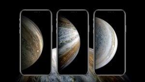 iPhone XS duvar kağıtları