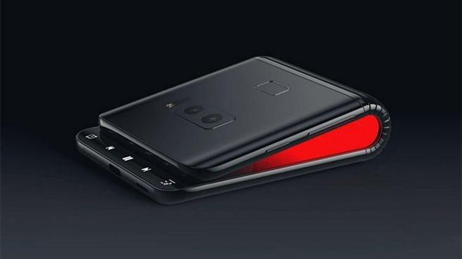 Katlanabilir akıllı telefon
