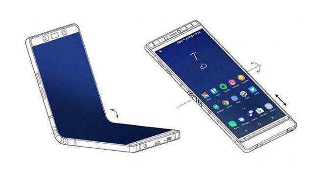 Samsung Galax F katlanabilir akıllı telefon Xiaomi Oppo Samsung