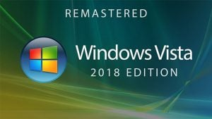 Windows Vista — 2018 Edition (Concept Design)