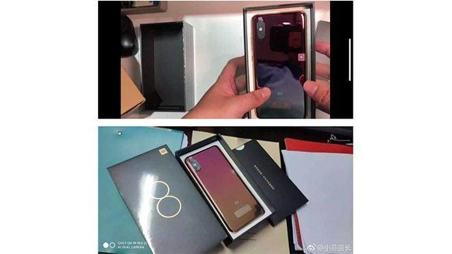 Xiaomi Mi 8 Screen Fingerprint Edition ve Xiaomi Mi 8 Youth Edition