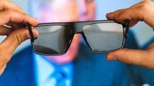 gözlük, televizyon