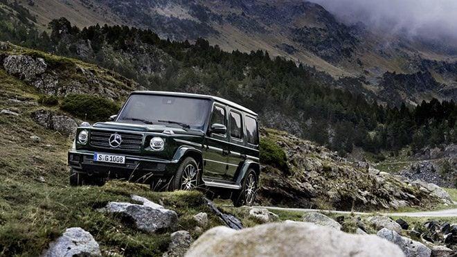 2019 Mercedes G-Serisi