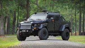 Gurkha CIV, Gurkha, Terradyne, zırhlı otomobil