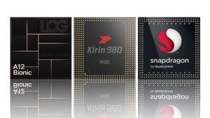 A12 Bionic, Snapdragon 855, Kirin 980