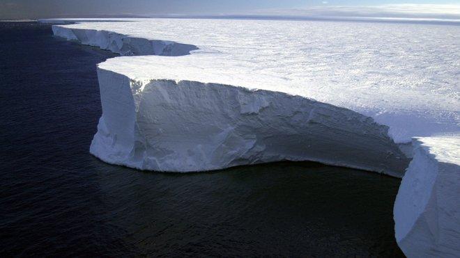 antarktik bu şelfi, antarktik, garip sesler, buz şelfi