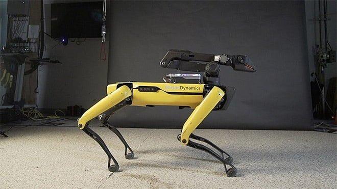 Boston Dynamics robot köpek Spot video