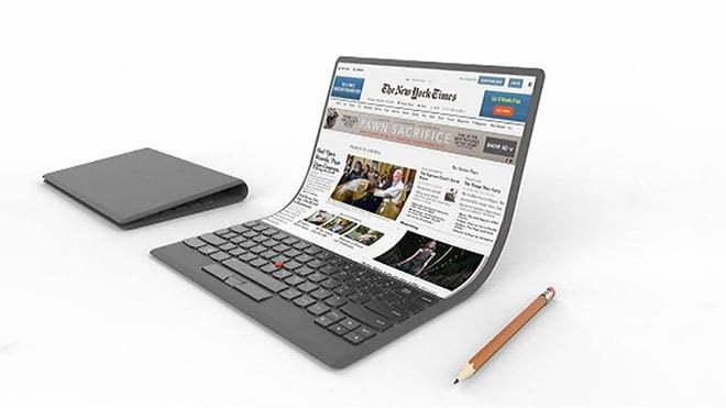 Samsung katlanabilir ekranlı dizüstü bilgisayar