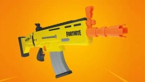 Fortnite Nerf silahı
