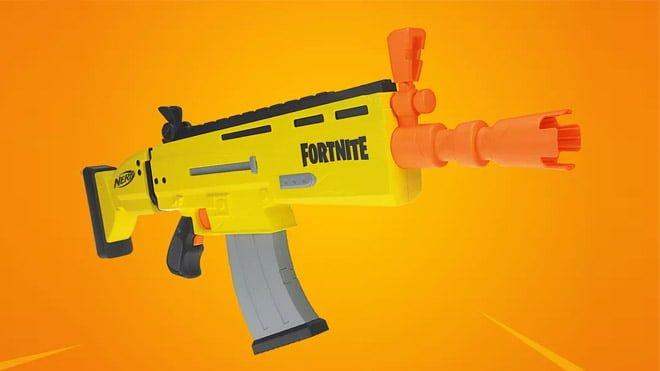 Fortnite Nerf silahı