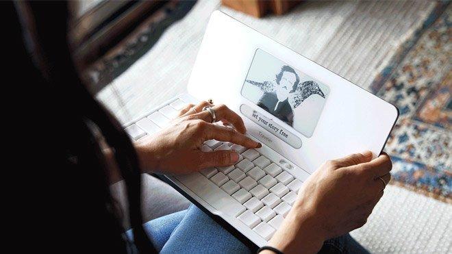 Freewrite Traveler dizüstü bilgisayar, yazı makinesi