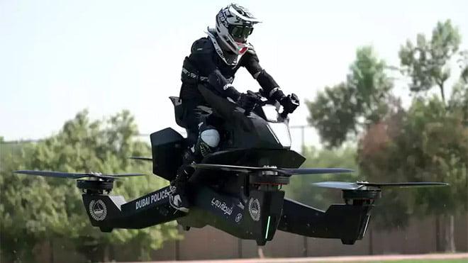 Hoversurf uçan motosiklet modeli Hoverbike Scorpion 3