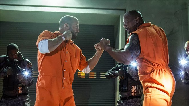 Hızlı ve Öfkeli spin-offu Hobbs & Shaw, Dwayne Johnson ve Jason Statham