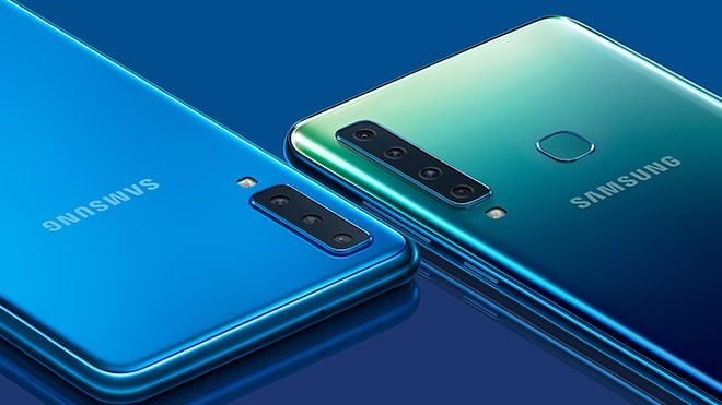 Dört arka kameralı Samsung Galaxy A9
