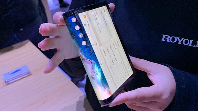 Katlanabilir akıllı telefon Rouyu FlexiPai