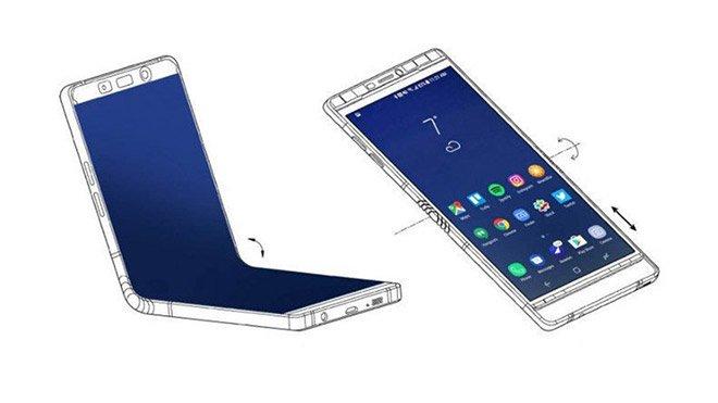 Samsung Galaxy F katlanabilir akıllı telefon