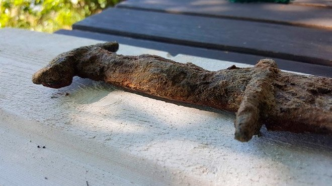 antik Viking kılıcı