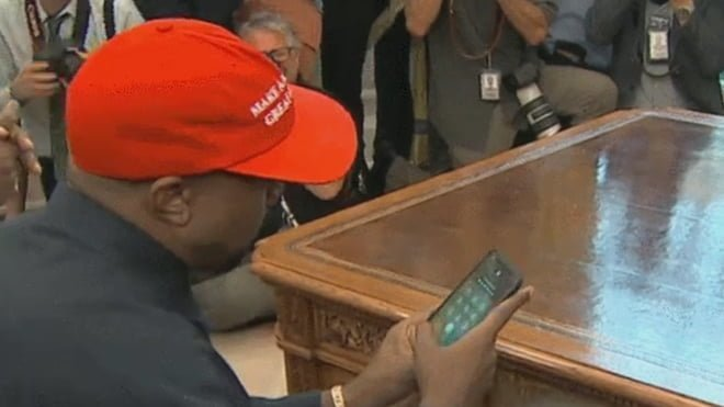 kanye west iphone, kanye west, iphone