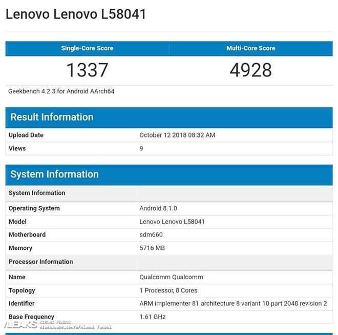 Lenovo S5 Prp