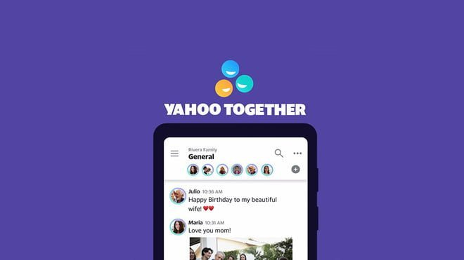 Yahoo Together, Yahoo, Mesajlaşma