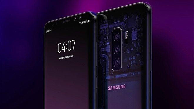 Samsung Galaxy S10 UFS 3.0 depolama