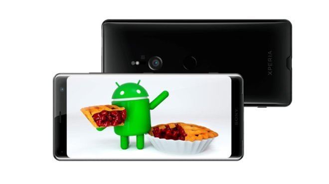 Sony Xperia Android 9.0 Pie