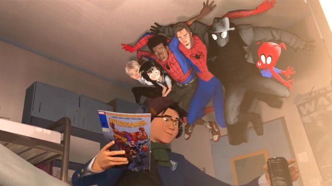 Spider-Man into the Spider-Verse, Spider-Man: Far From Home