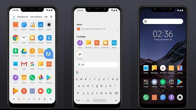 Xiaomi POCO Launcher Xiaomi Pocophone F1