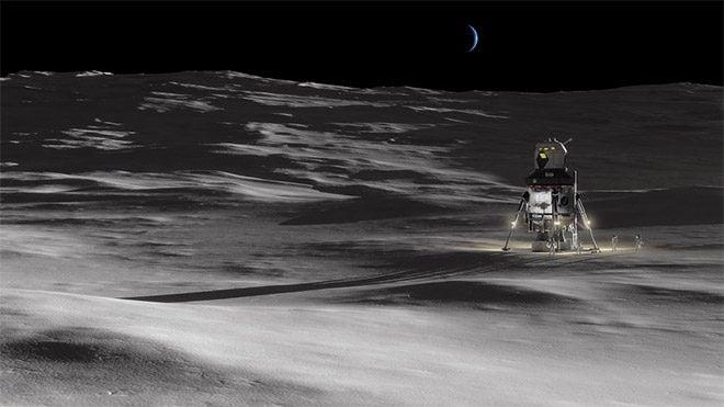 Lockheed Martin insanlı ay iniş aracı