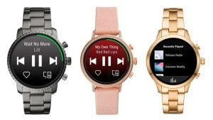 Wear OS akıllı saat Spotify