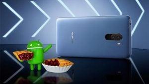 Xiaomi Pocophone F1 Android 9.0 Pie