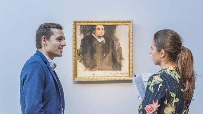 yapay zeka Portrait of Edmond Belamy