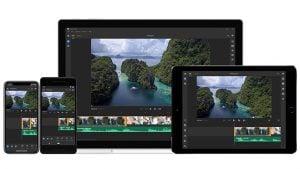 Adobe Premiere Rush CC YouTube video düzenleme uygulaması