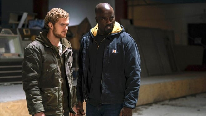marvel luke cage iron fist