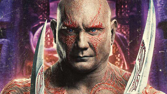 Avengers Infinity War Drax Thanos