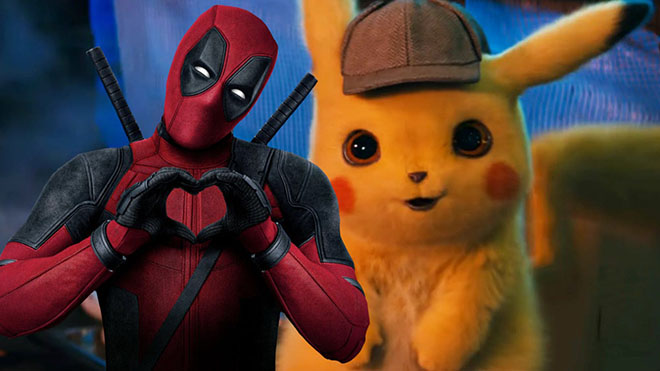 Pikachu Deadpool