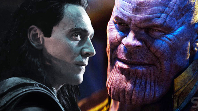 Thanos Loki Avengers