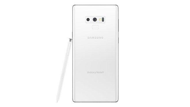 Beyaz Samsung Galaxy Note 9