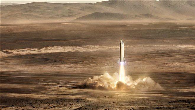 Elon Musk SpaceX BFR Starship