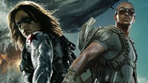 Avengers Falcon Winter Soldier