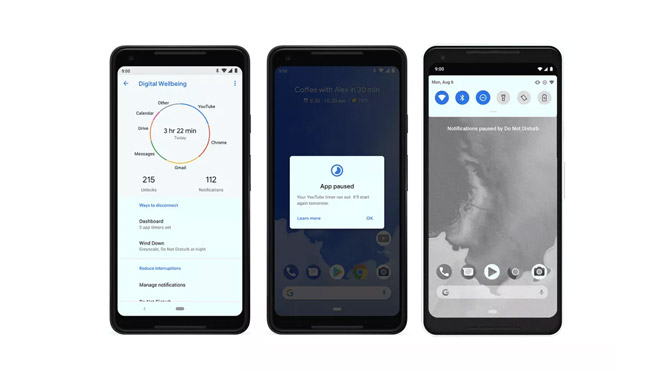 Google Android 9.0 özeliği