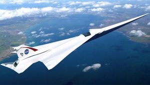 Süpersonik uçak Lockheed Martin X-59 Quiet Supersonic Technology (QueSST)