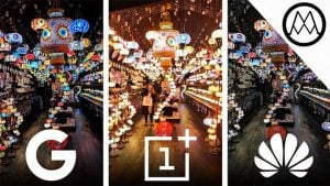 Huawei Mate 20 Pro, Google Pixel 3 XL ve OnePlus 6T düşük ışık kamera testinde karşı karşıya [Video]