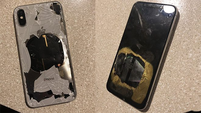 Apple iPhone X iOS 12.1
