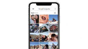 Google Fotoğraflar ios