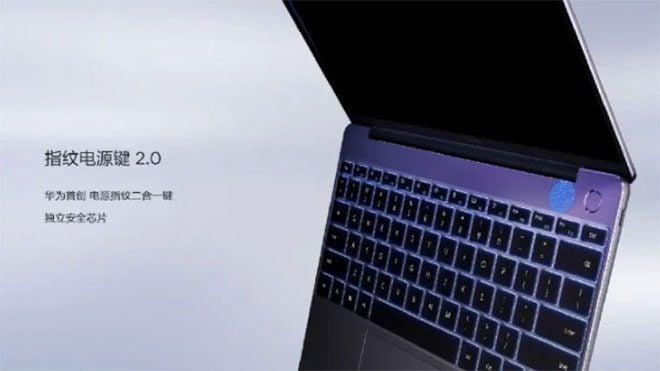 13 inç JHuawei MateBook dizüstü bilgisayar