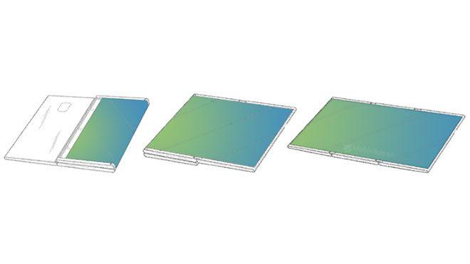 katlanabilir ekranlı Samsung tablet
